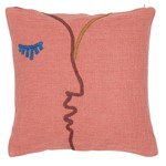 "Housse coussin ""Bisou"""